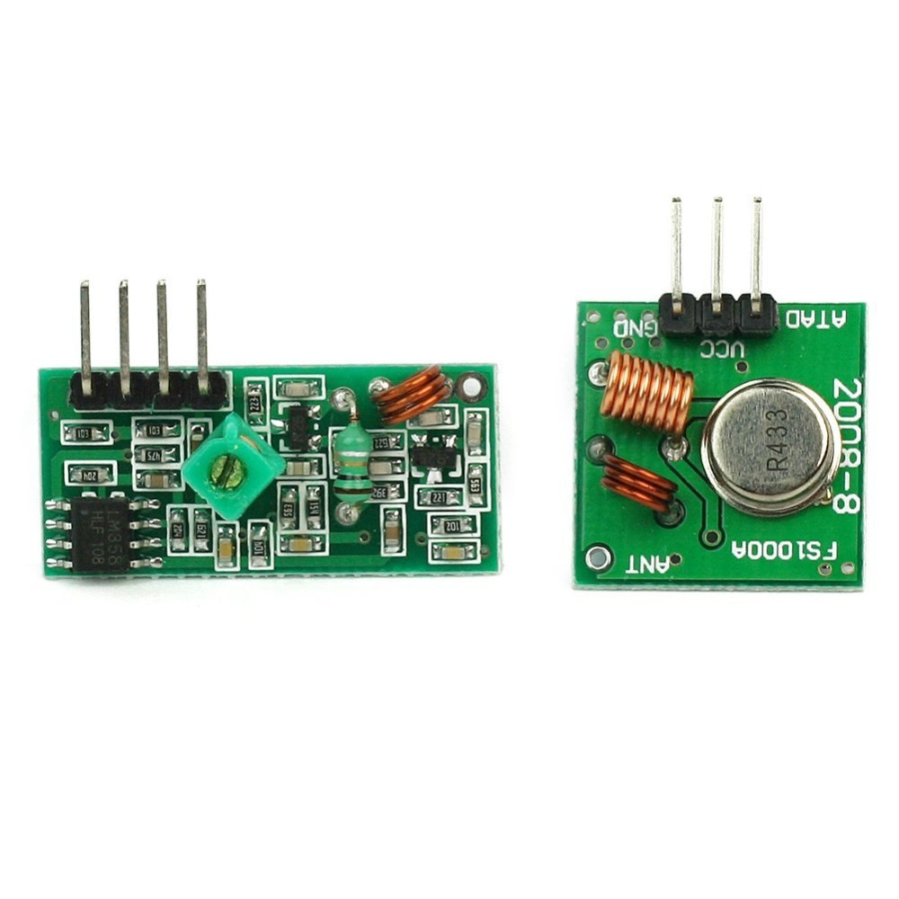US $0 75  433Mhz RF Wireless transmitter module and receiver kit For  Arduino Raspberry Pi-in Integrated Circuits from Electronic Components &  Supplies