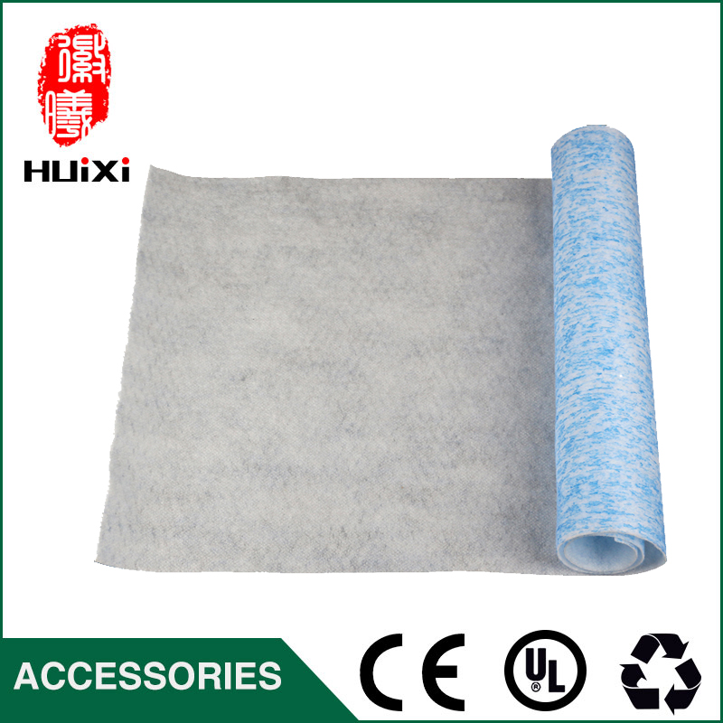 The DIY green and white air filter paper cleaner parts, hot sale high efficient composite filter paper air purifier parts hot parts