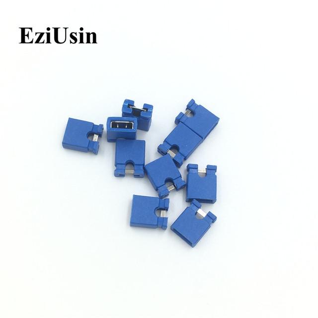 EziUsin Colorful Pin Header Standard Computer Jumper Blocks Connector 2.54 mm 3 1/2 Hard Disk  Drive Motherboard Expansion Card