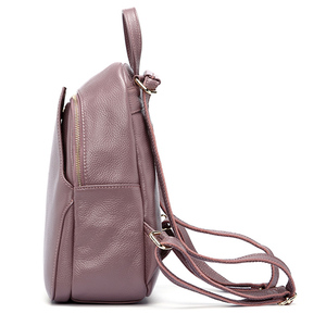 Image 5 - Zency Womens Genuine Leather Backpacks Ladies Fashion Travel Bags Femal Daily Holiday Knapsack Preppy Style Girls Schoolbag