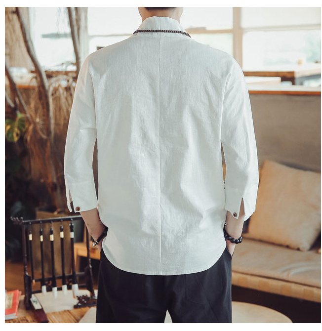 Retro Linen Shirts 4