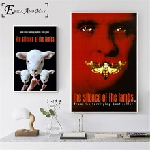 The Silence Of Lambs Movie Canvas Prints Modern Painting Posters Wall Art Pictures For Living Room Decoration No Frame