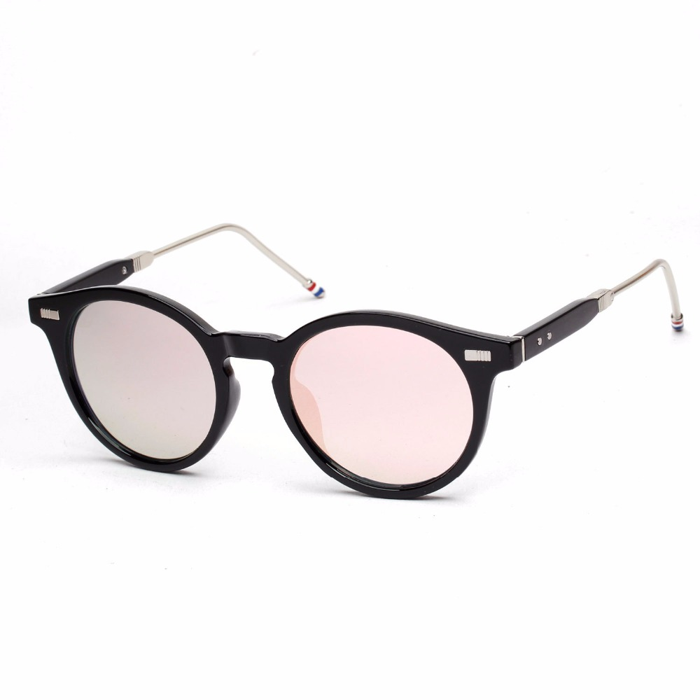d63f8197e76bc Óculos frete grátis new moda óculos mulheres homens moda retro oval óculos  de sol verão 4 cores óculos