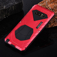 Original Shockproof Case For Samsung Galaxy Note 8 S8 Plus S7 S6 Edge Luxury Waterproof Metal+Silicone Cover Full Protection
