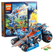 Model building kits compatible with lego Nexus Knights Clay s Rumble Blade Jestro Clay3D blocks Educational