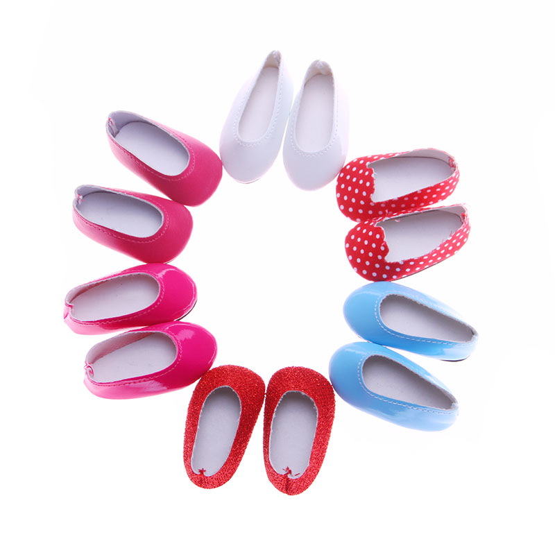 Fleta 6 colors doll shoes for 14.5 wellie wishers doll accessories m73-78