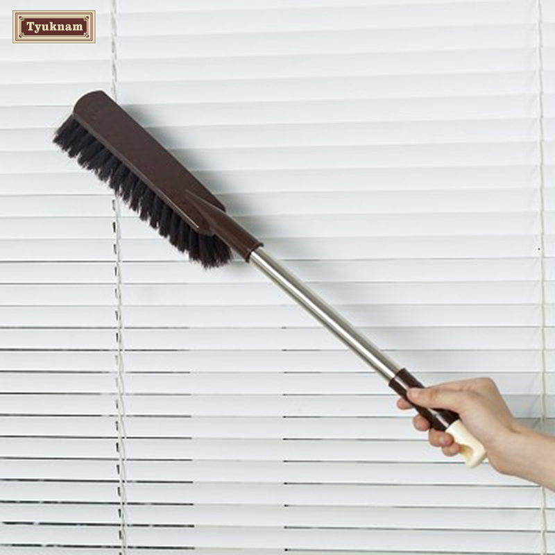 Stainless Steel Extend Long Handle Duster Cleaning Dust Brush Wash Dusting Home Office Car Dust Brush Cleaner Tool