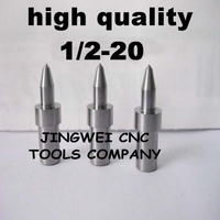 Hohe qualität hartmetall fluss drill America system UNF 1/2-20 (12,1mm) rund, form bohrer für edelstahl