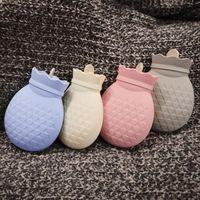Мешок для бутылки с горячей водой безопасный и надежный высококачественный резиновый микроволновый нагрев мешок для горячей воды новый кр...