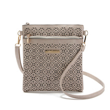 2018 Small Casual Women Messenger Bag PU Hollow Out Crossbody Bags Ladies Shoulder Clutch Purse Brand Handbags Bolsas Feminina