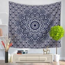 Datura Flower Indian Mandala Tapestry