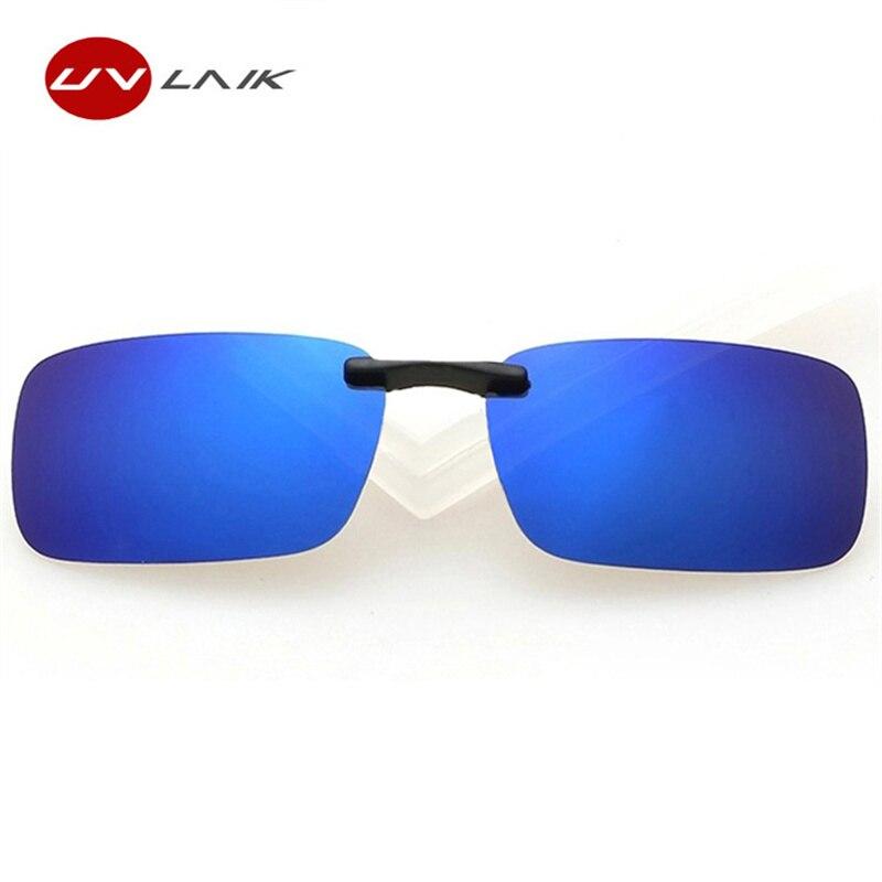 4e00603e03ad8 UVLAIK Ultralight Myopic Polarized Sunglasses Men Polarizer Lens Night  Vision Goggles Sun Glasses Flip Up Clip