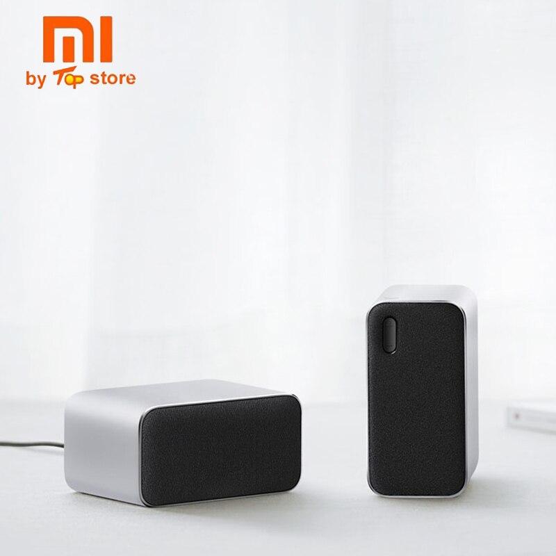 Original Xiaomi desktop 2.0 Bluetooth speaker computer connect phone calls voice support LED indicator portable speakerOriginal Xiaomi desktop 2.0 Bluetooth speaker computer connect phone calls voice support LED indicator portable speaker