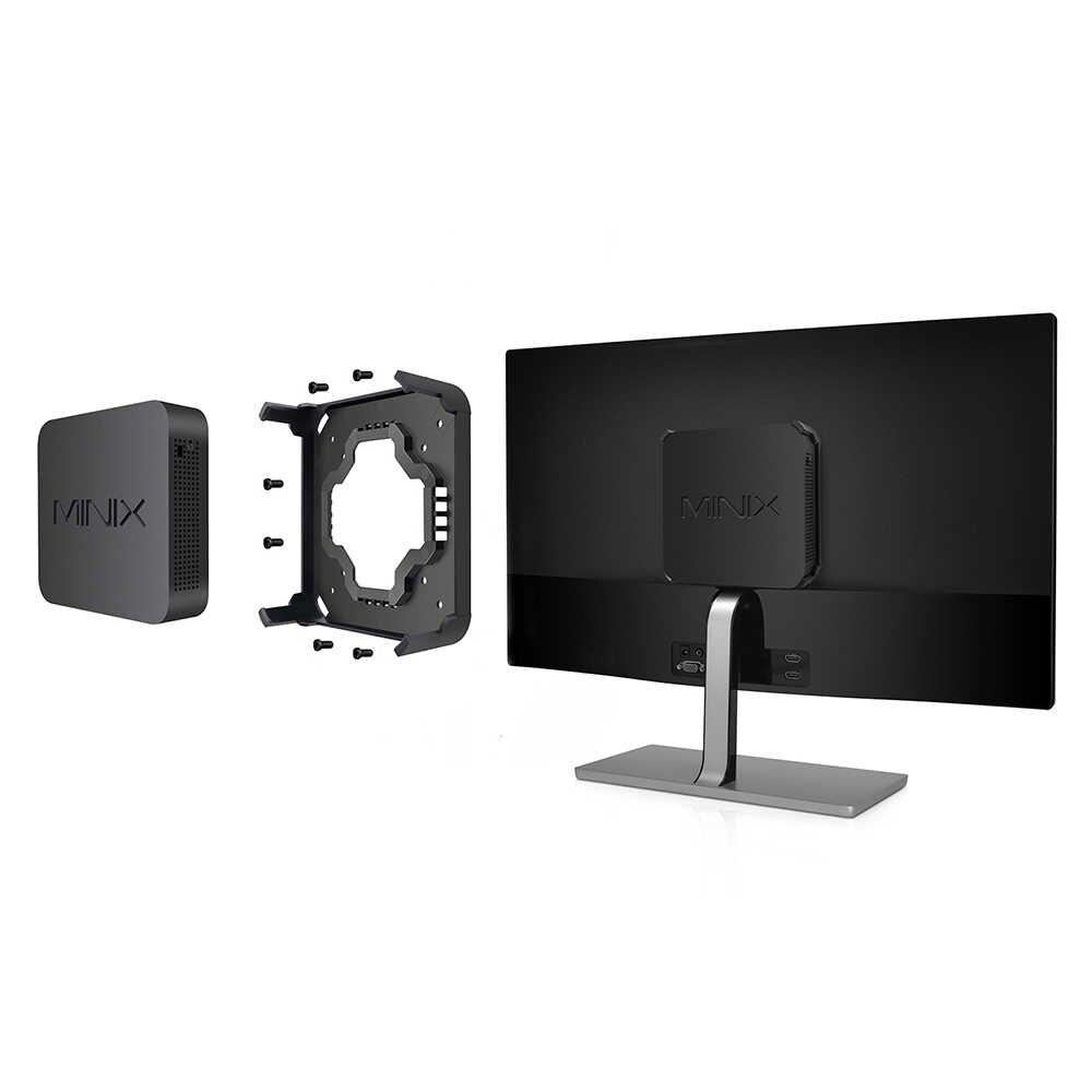 Minix NEO J50C-4 البسيطة PC TV مربع إنتل الجوزاء بحيرة بنتيوم J5005 4 GB DDR4 32 GB 128 GB SSD 2.4 GHz 5 GHz WiFi BT4.1 مجموعة أعلى مربع