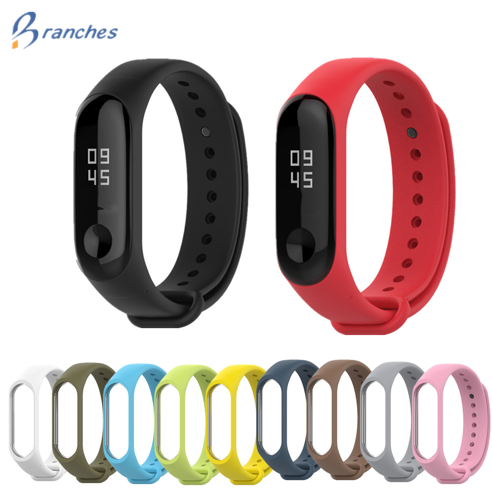 Mi Band 3 Strap bracelet Silicone Wristband xiomi band black Smart miband 4 Band Accessories wrist Strap and for Xiaomi Mi Band3 สาย mi band 3