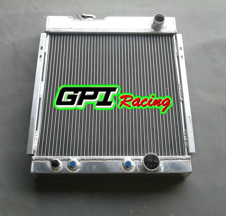 3ROW NEW ALUMINUM RADIATOR GREAT TOP FITS 64-66 FORD MUSTANG V8 I6 AT 289 302