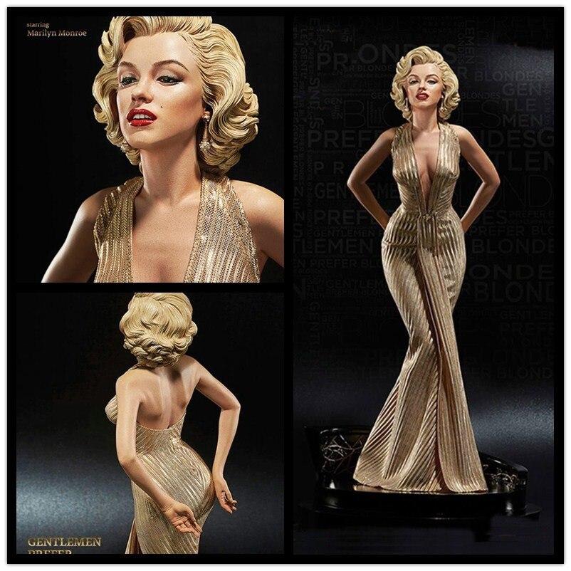 42 cm 1/4 Bilancia Bionde Marilyn Monroe Statua pvc Sexy Figure Da Collezione Model Toy spedizione gratuita
