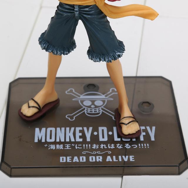 One Piece New World Luffy Sir Crocodile Action Figures PVC Toys