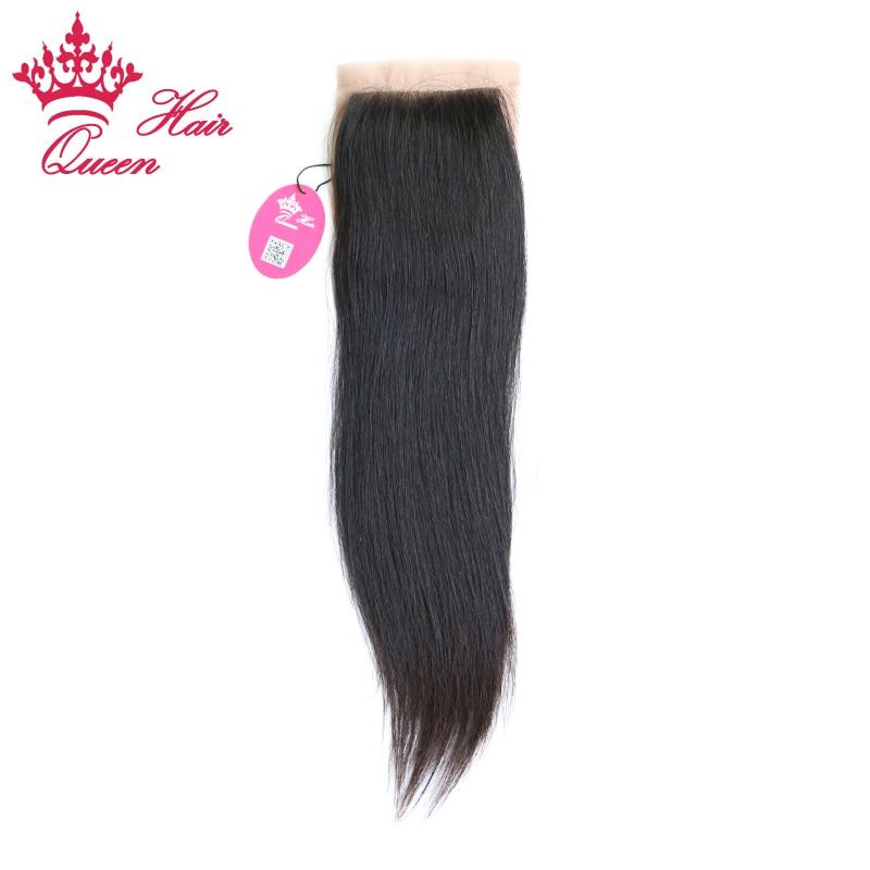 Королевские Продукты для волос шелковая основа закрытие бразильские девственные волосы человеческие прямые 4X3,5 швейцарское кружево бесплатная часть стиль быстрая бесплатная доставка