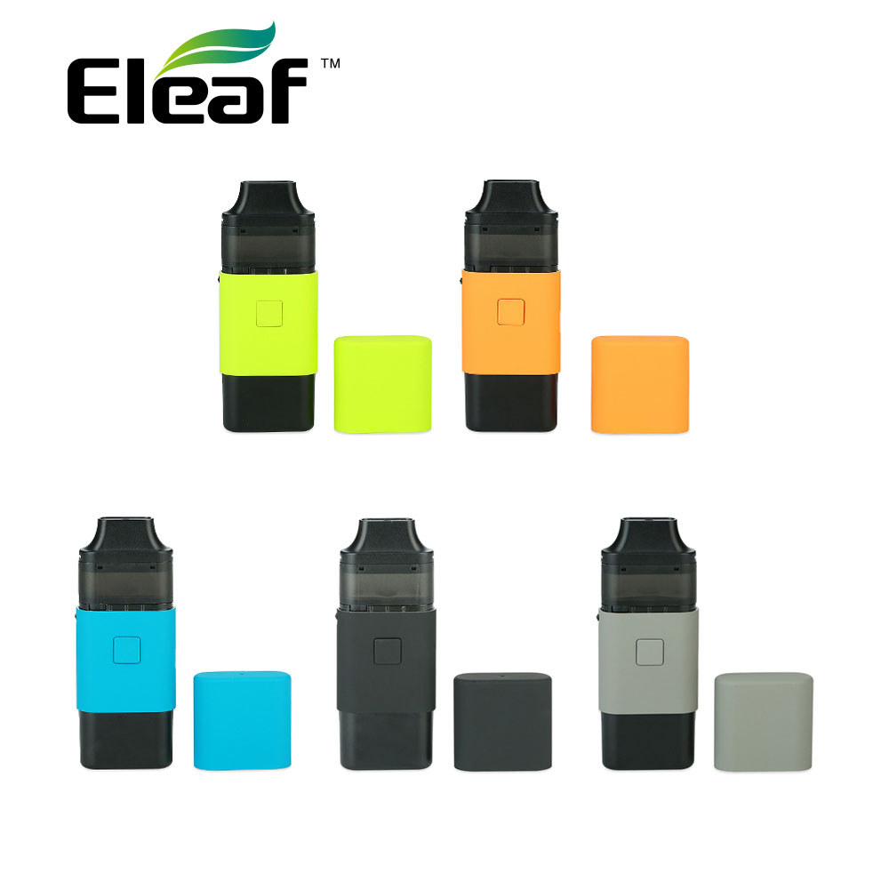 Newest Eleaf ICard Starter Kit with 2ml Cartridge & 650mAh Built-in Battery & All-new <font><b>ID</b></font> 1.2ohm <font><b>Coil</b></font> E-cigarette Starter Vaping image