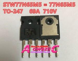 Image 2 - ترانزستور Aoweziic أصلي جديد مستورد 100% طراز STW45NM50 W45NM50 STW77N65M5 77N65M5 TO 247