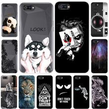 Realme C2 Case For OPPO Realme C2 Cover Silicone Planet Cat Tiger Printing Phone Case For OPPO Realme C2 C 2 Back Cover Shell