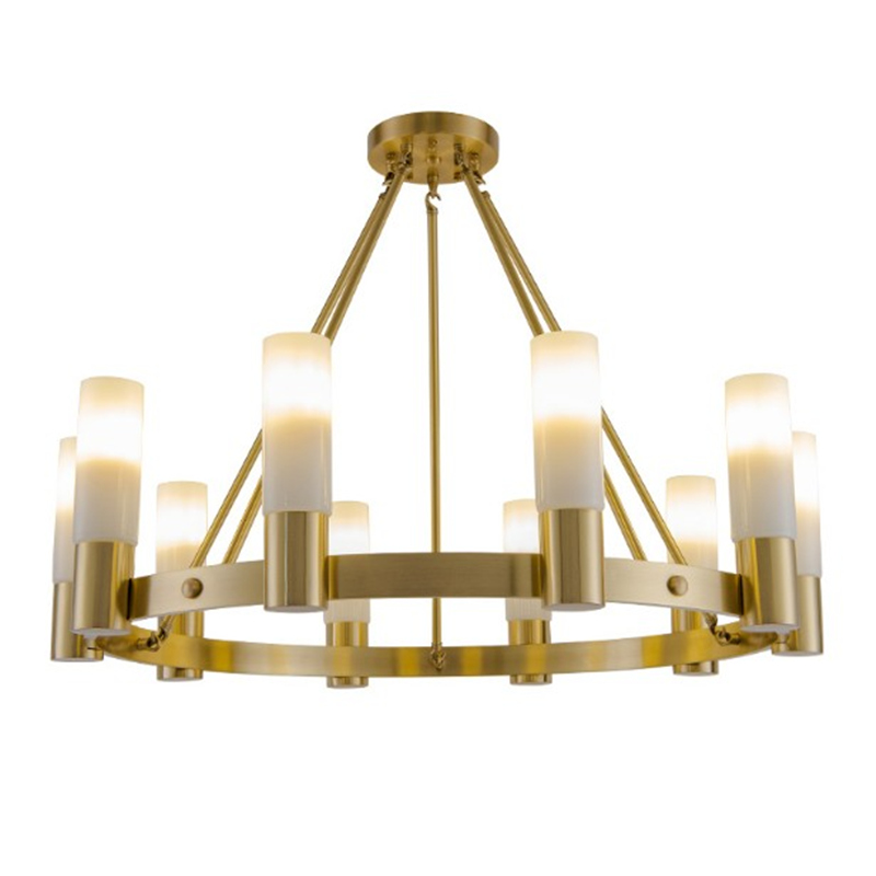 Nouveau classique Loft rétro cuivre Lustre Lustre Luminarias E14 Led ampoule suspension luminaire ou plafonnier