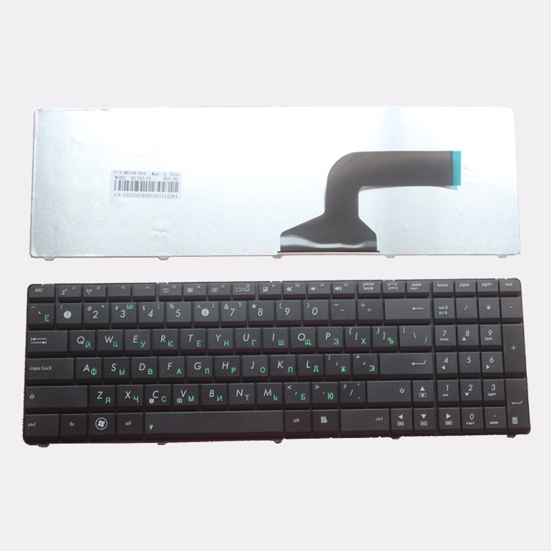 Russian Laptop Keyboard FOR ASUS K53SV K53E K53SC K53SD K53SJ K53SK K53SM X55A X55C X55U X55VD RU Black