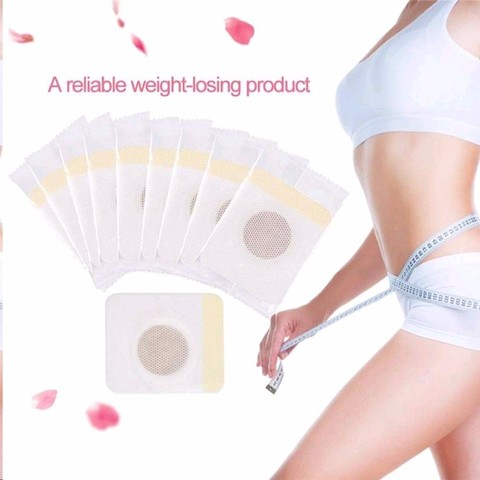 10pcs/1pc Magnetic Abdominal Slimming Patches Lose Weight Paste Navel Stickers to Relax Body Detox and Promote Sleep Health Lahore
