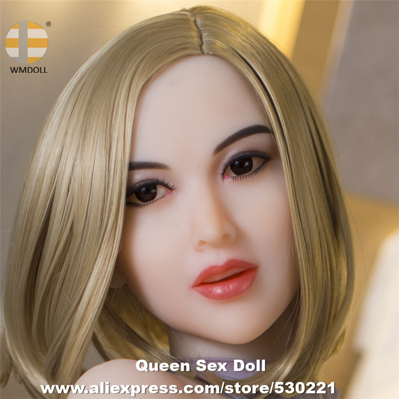 NEW WMDOLL Top Quality Silicon Love <font><b>Doll</b></font> Head For Realistic <font><b>Sex</b></font> <font><b>Dolls</b></font> TPE Heads With Oral Sexy Can Fit Body From 140cm To <font><b>172cm</b></font> image