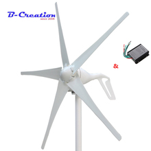 Заводская цена, 400 Вт ветровая мини-Турбина/генератор 3/5 лопастей малый ветрогенератор low start up ветер генератор + 400 ветер контроллер
