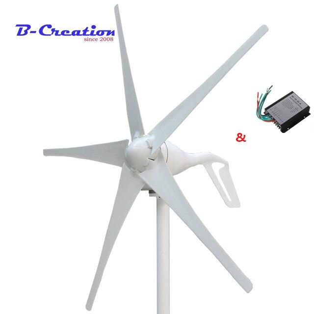 Prezzo di fabbrica, 400 w mini turbina eolica/generatore 3/5 lame di piccolo mulino a vento a bassa start up generatore eolico + 400 w regolatore del vento