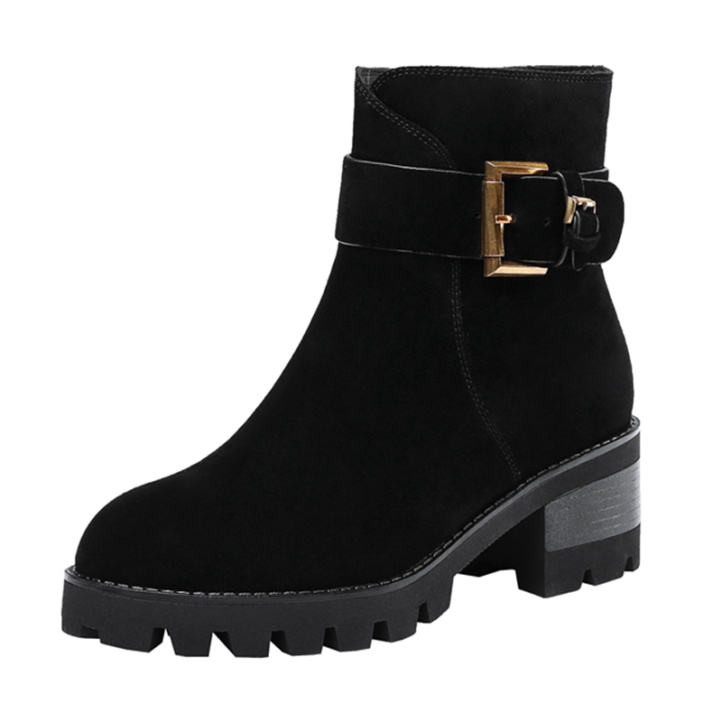 Femme Cheville Bottines 34 Botas Pour black De Mujer Taille 39 Base Bout Black Rond Femmes Zyl1565 Zip Chaussons Enmayla Chaussures a 2018 drxoCeB