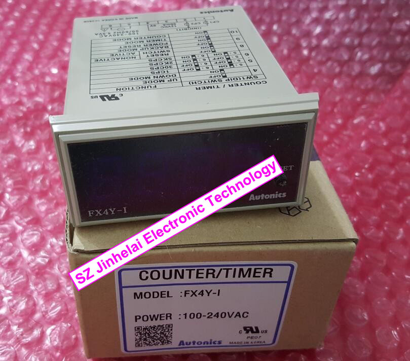 100% New and original FX4Y-I(FX4Y-1) AUTONICS Timer relay 100-240VAC Counter/timer цены