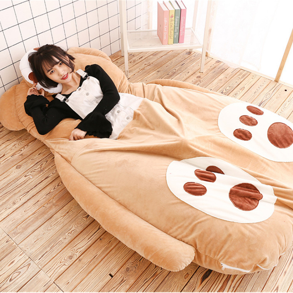 Delicieux Fancytrader Lovely Cartoon Bears Beanbag Giant Soft Plush Stuffed Bed Brown  Bear Tatami Sofa Mat 180cm X120cm Kids Gifts In Movies U0026 TV From Toys U0026  Hobbies ...