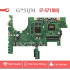 G751JM motherboard for ASUS G751J G751JY G751JT G751JS G751JM laptop motherboard REV2.2 i7-4710HQ CPU USB3.0 mainboard