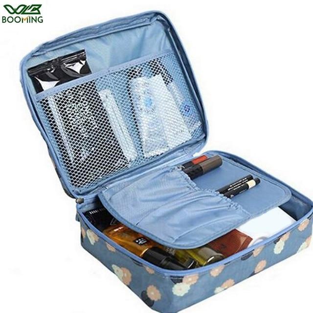 WBBOOMING Hot Sale Cosmetic Storage Bag Travel Bag Makeup Organizer Skincare Storage Zipper Bag 100% Good Rating 14 Colors