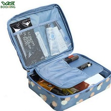WBBOOMING sıcak satış kozmetik saklama çantası seyahat çantası makyaj organizatör cilt bakımı depolama fermuarlı çanta 100% iyi değerlendirme 14 renkler