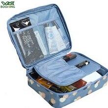 WBBOOMING חם מכירה קוסמטי אחסון תיק נסיעות תיק איפור ארגונית לטיפוח העור אחסון רוכסן תיק 100% טוב דירוג 14 צבעים
