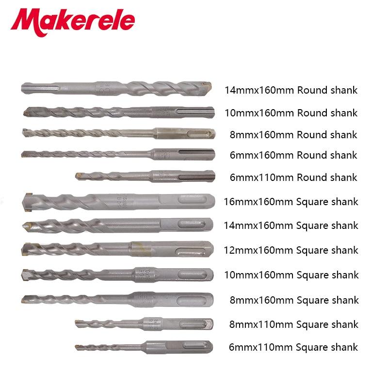 Best Sale 12pcs/set bits Twist Drill Bit For Metal 40CR chrome-vanadium steel Drilling Woodworking Tools 6/8/10/12/14/16mm best sale 4pcs set twist drill bit for metal 40cr chrome vanadium steel drilling woodworking tool 12 14 16 18mm