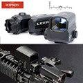 Lupa para Rifle de retícula óptica de visión doble LP D-EVO de WIPSON con Rifle de visión réflex de punto rojo LCO lugares de interés