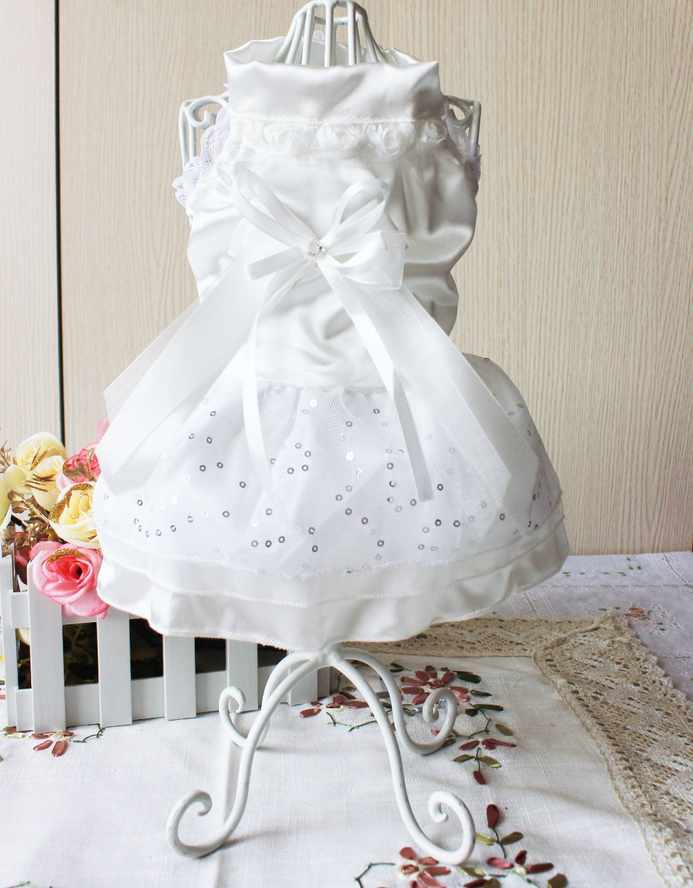 Gown for dogs fashion dresses sourcehttpsaliexpresswwholesale princess dog dressml ombrellifo Image collections