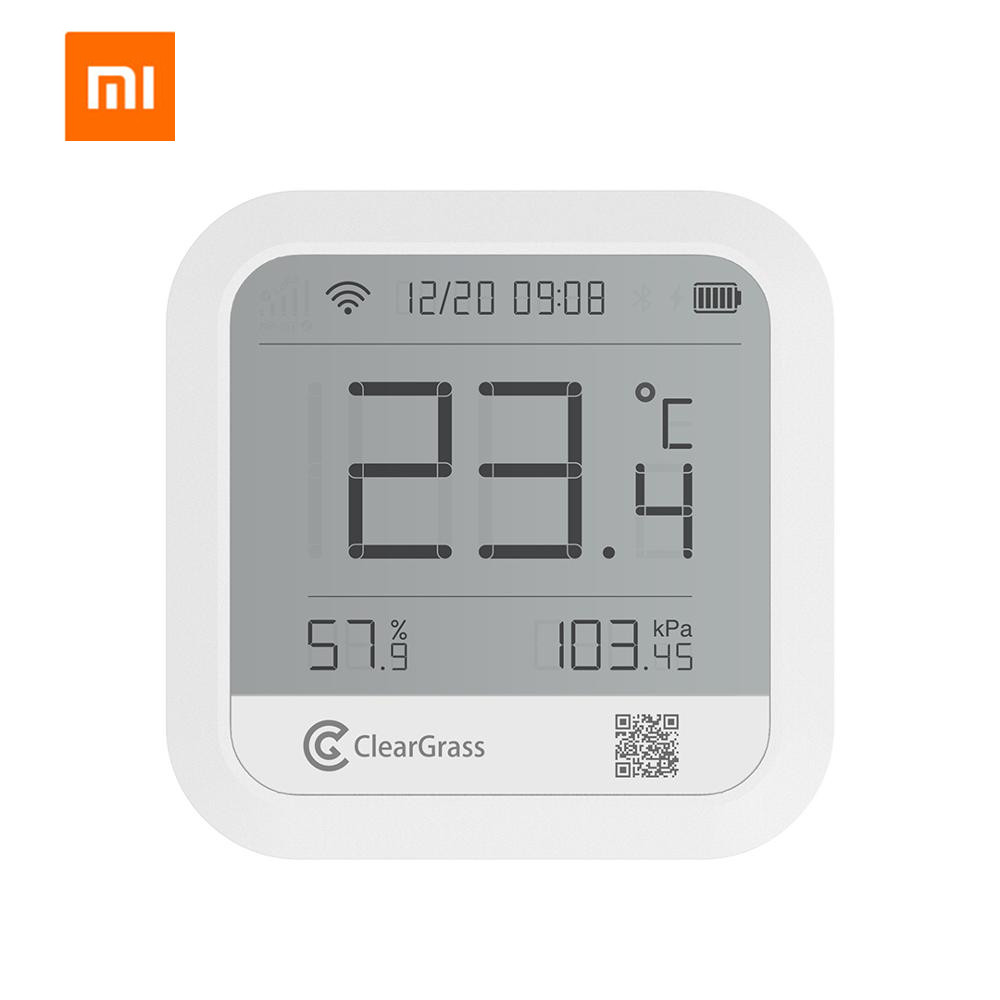 Xiaomi Cleargrass Weather Station Forecast Temperature Humidit atmospheric pressure Sensor Digital Clock Smart Wifi mi home APP image