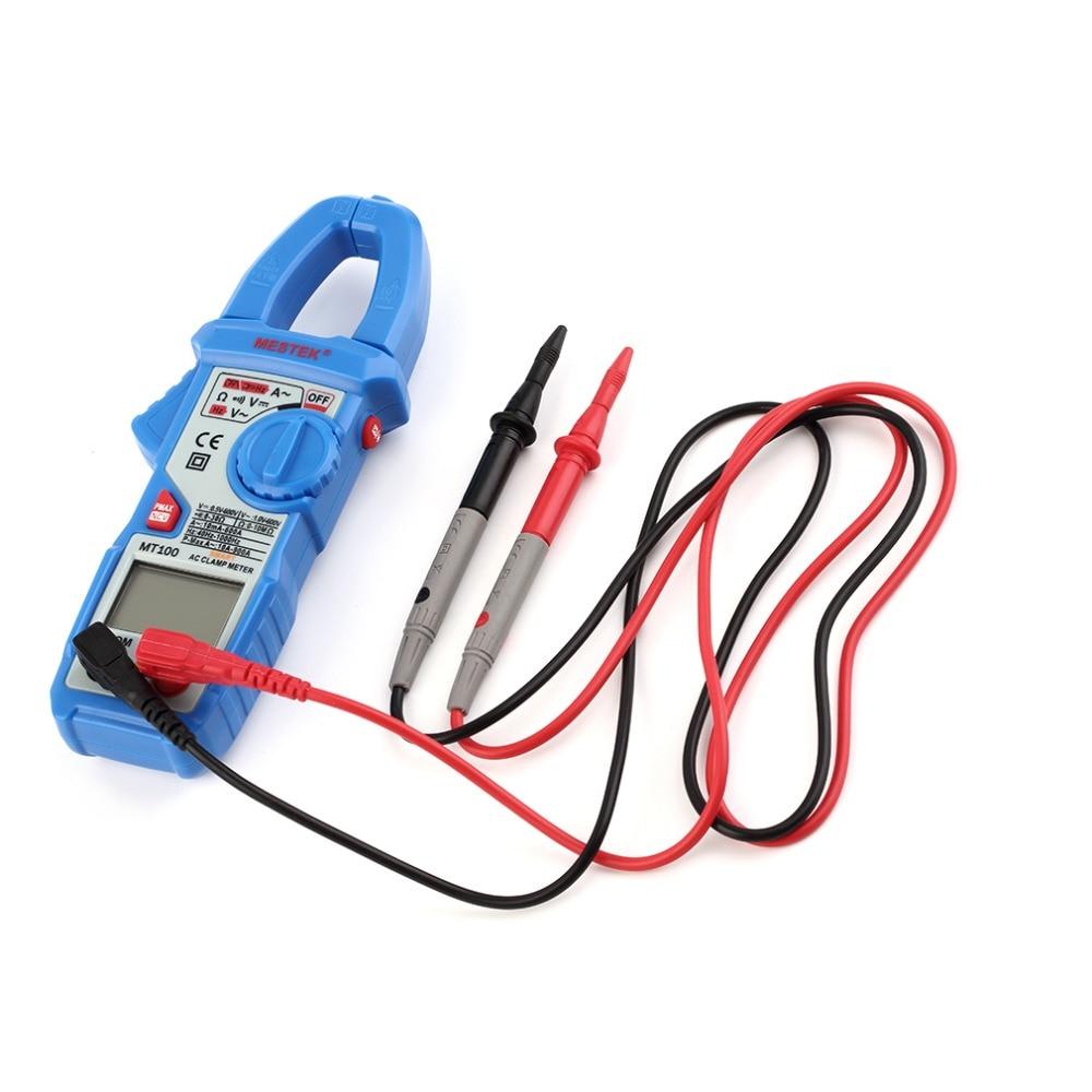 Clamp Meter Digital Ac Multimeter New Tester Dc Voltage Rms True Amp Test