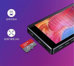 Image 4 - 2020 mais novo leitor de mp3 ruizu d20 3.0 Polegada tela sensível ao toque completo alto falante de alta fidelidade lossless leitor de música com fm, player de vídeo
