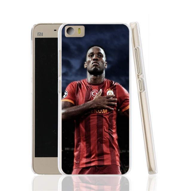 Drogba football star cell phone Cover Case for Xiaomi redmi hongmi red rice 1_1s 2 3 pro note