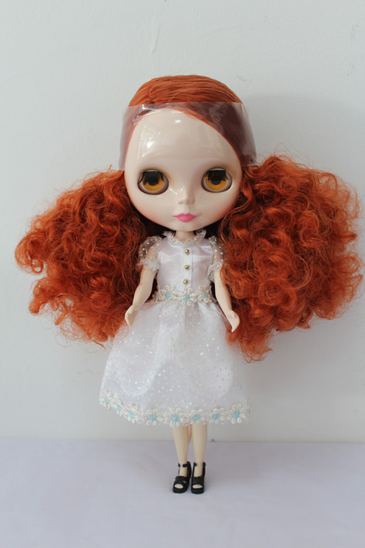 Free Shipping big discount RBL-171DIY Nude Blyth doll birthday gift for girl 4colour big eyes dolls with beautiful Hair cute toy free shipping big discount rbl 288diy nude blyth doll birthday gift for girl 4colour big eyes dolls with beautiful hair cute toy