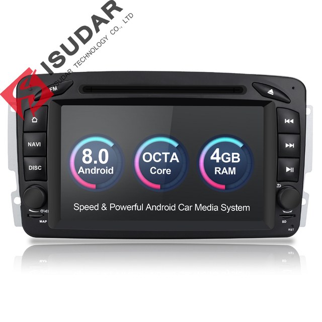 Super Isudar Car Multimedia Player 2 Din Car Radio GPS Android 8.0 For HU-32