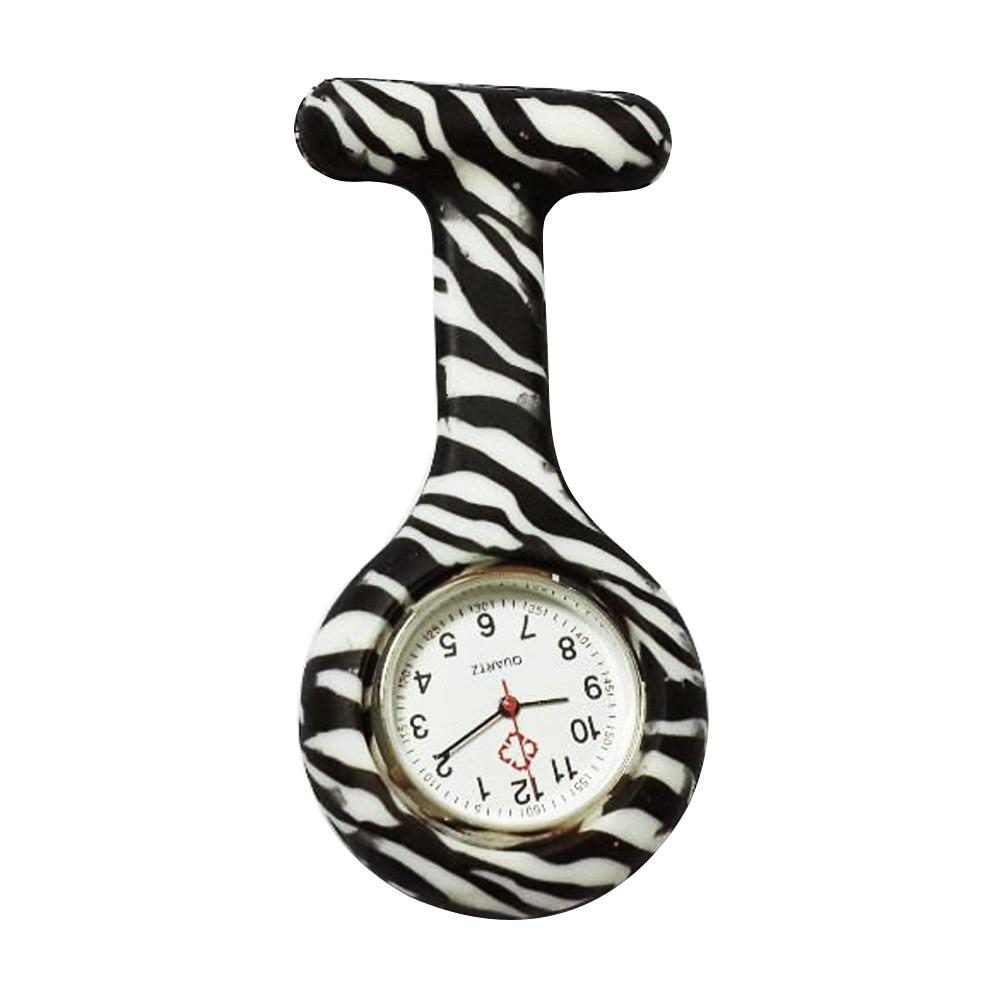 I0 Lady Silicone Stainless Round Dial Quartz Fob Quartz Pocket Nurse Watch Women watches hot gift wholesale