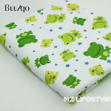 Baby cotton knitted fabric - baby special pure cotton safety soft cloth small frog 18 meters wide
